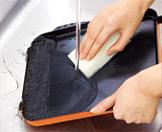 プレートパンとキャセロールは丸洗い可能
