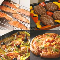 簡単操作で様々な調理モードが使えます